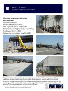 Aviation Infrastructure Construction