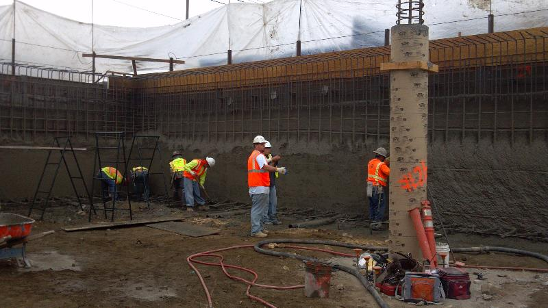 Shotcrete Finishing