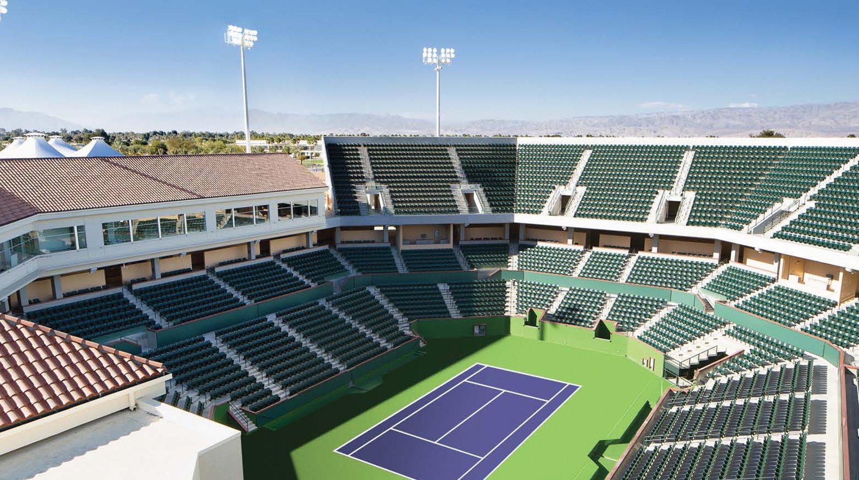 Indian Wells Tennis Garden by Watkins Landmark