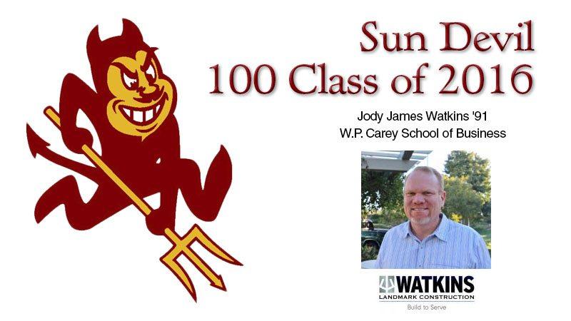 ASU Sun Devil 100 Class of 2016