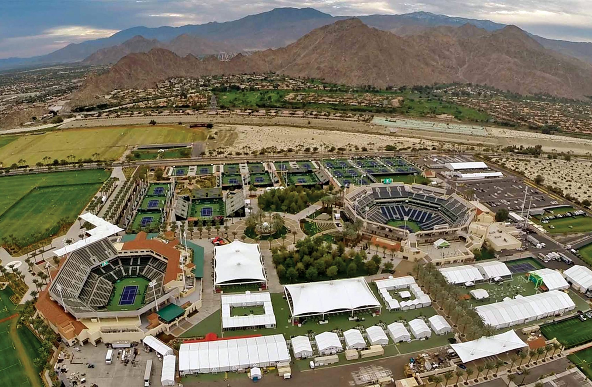 Bloomberg Business On Larry Ellison Indian Wells Tennis Gardens Watkins Landmark Construction